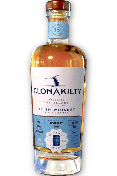 Clonakilty Distillery 15 year old single malt