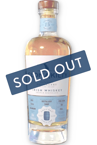 Clonakilty Distillery 15 year old is sold out