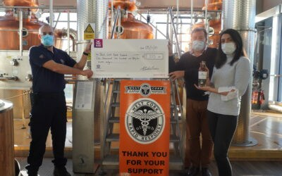 Clonakilty Distillery Raises €1,155 for Local Charity
